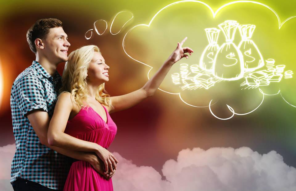 Casal sonhando em ficar rico - برای ازدواج موفق به چه معیاری توجه کنیم؟