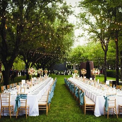 1 - عروسی در فصل بهار و نحوه ی برگزاری آن