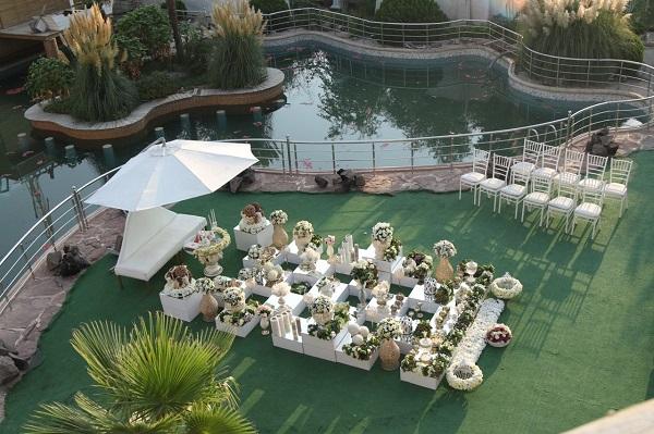 5 - جشن عروسی در تابستان یکی از بهترین جشن ها