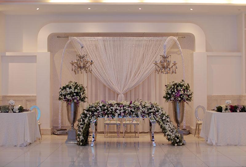 1 - جایگاه عروس و داماد