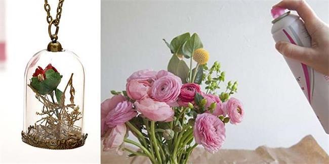 1 - روش های خشک کردن دسته گل عروس
