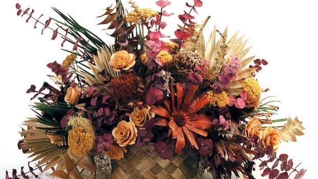 6 - روش های خشک کردن دسته گل عروس