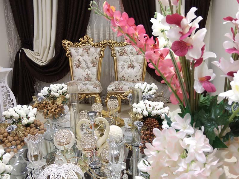 عقد1 - جایگاه عروس و داماد
