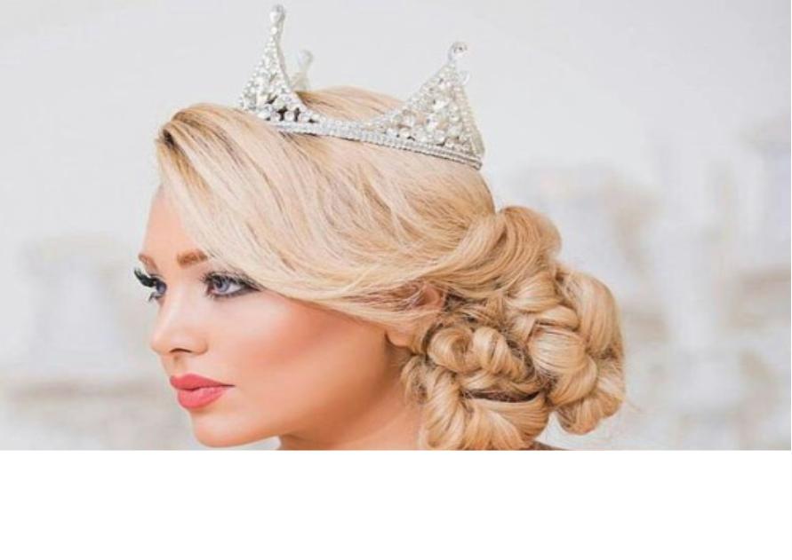 با رنگ مو 3 - نکاتی در مورد انتخاب بهترین رنگ مو عروس
