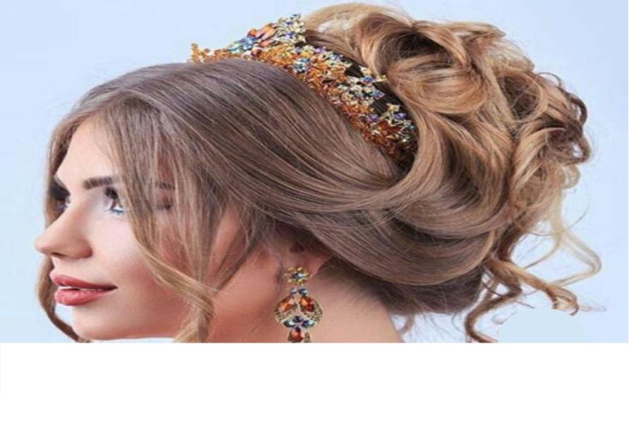 با رنگ مو4 - نکاتی در مورد انتخاب بهترین رنگ مو عروس