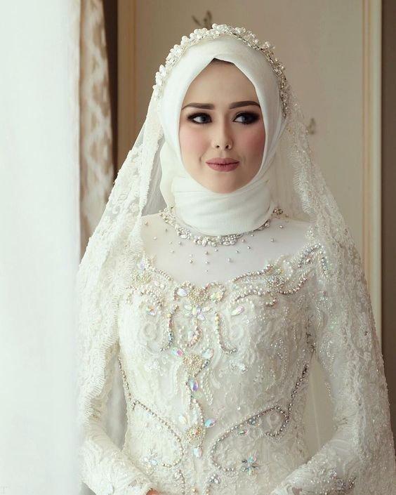پوشیده3 - مدل لباس عروس پوشیده انتخابی خاص برای عروس خانم ها