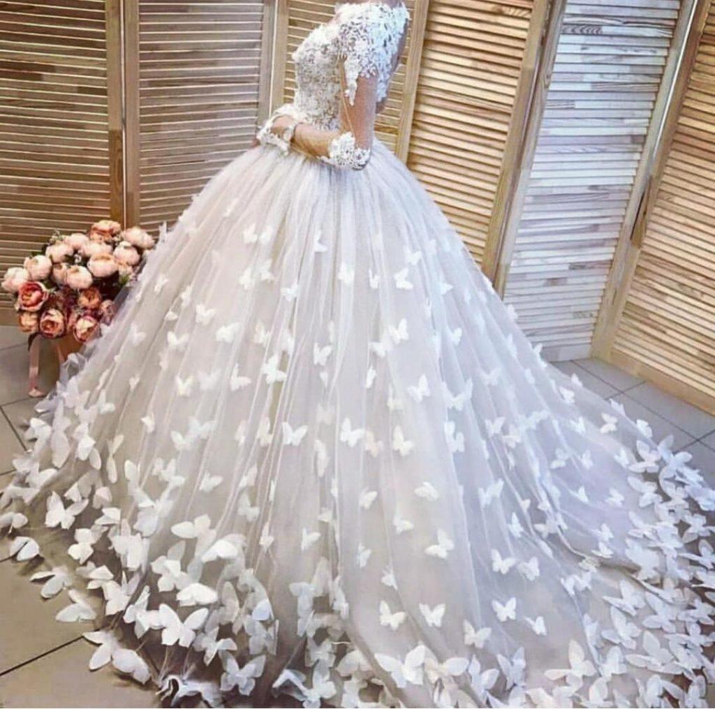 1 - لباس سفید عروس بهترین رنگ برای لباس عروس