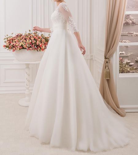 2 - لباس سفید عروس بهترین رنگ برای لباس عروس