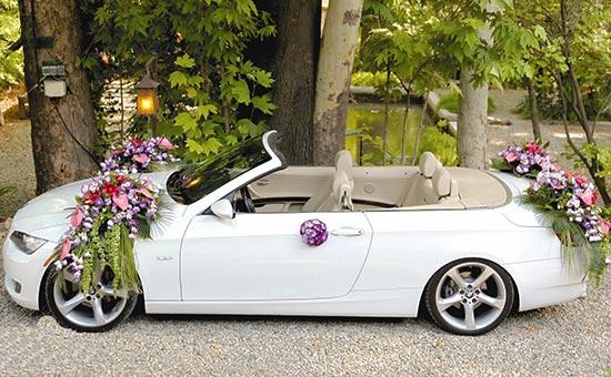 5 - اجاره ماشین عروس و تزیین ماشین عروس