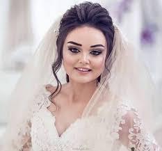 مو صورت گرد - مدل مو عروس ساده و زیبا با توجه به جدیدترین مدل آرایش مو و صورت عروس