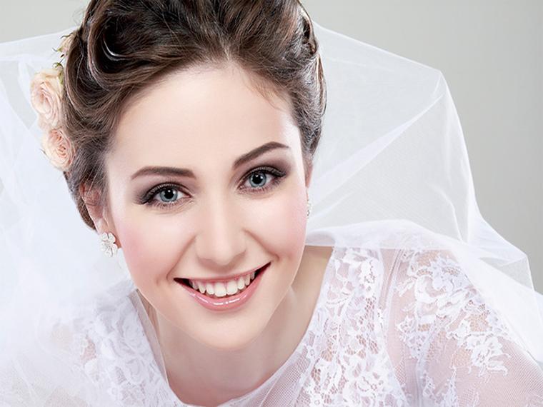 مو صورت گلابی - مدل مو عروس ساده و زیبا با توجه به جدیدترین مدل آرایش مو و صورت عروس