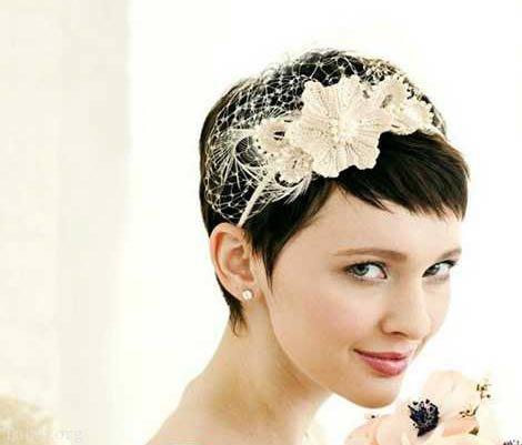 کوتاه - مدل مو عروس ساده و زیبا با توجه به جدیدترین مدل آرایش مو و صورت عروس