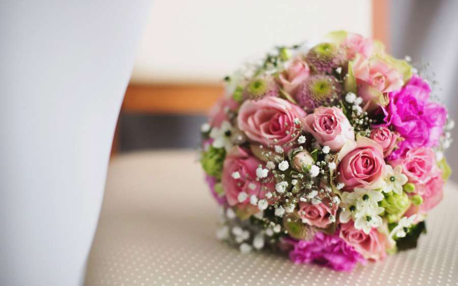 6 - مدل دسته گل عروس