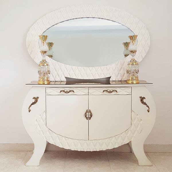 2 - انتخاب آینه و شمعدان مناسب