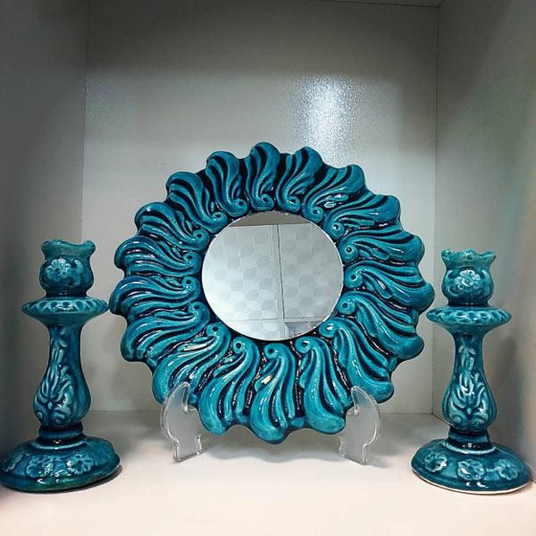 5 - انتخاب آینه و شمعدان مناسب