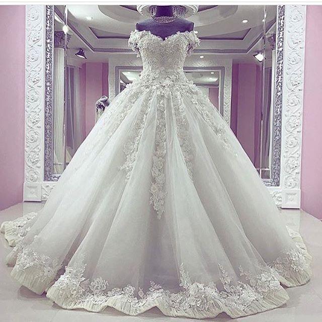 لباس1 - مدل لباس عروس پرنسسی برای عروسهای سخت پسند