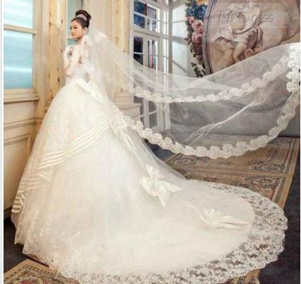 لباس4 - مدل لباس عروس پرنسسی برای عروسهای سخت پسند