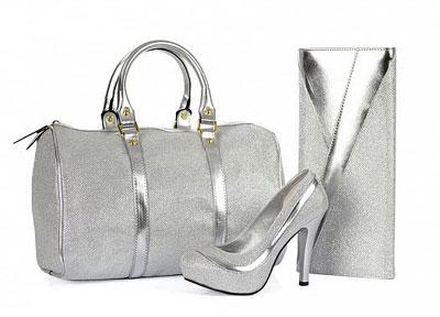 5 - مدل کیف و کفش ست عروس