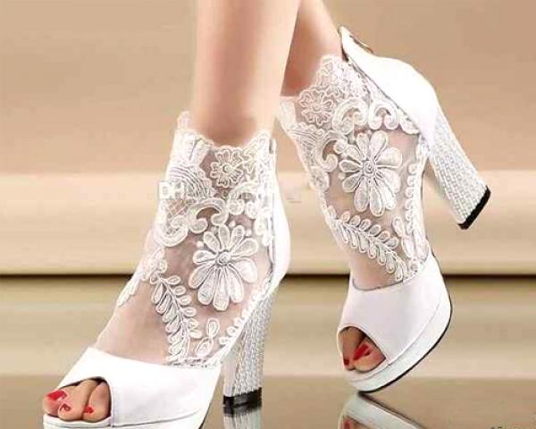 8 - مدل کیف و کفش ست عروس