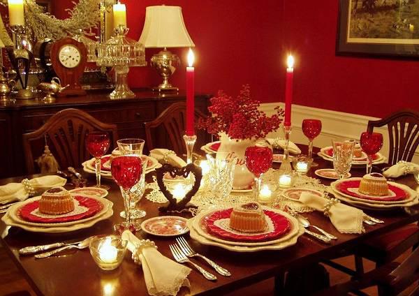 میز غذاخوری 1 - چیدمان میز غذاخوری به سبک سنتی و امروزی