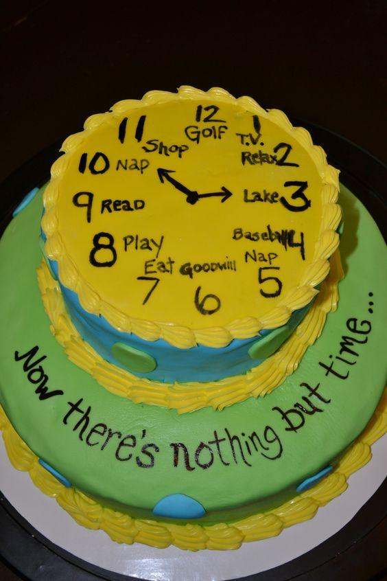 جشن بازنشستگی 6 - کیک های باحال جشن بازنشستگی