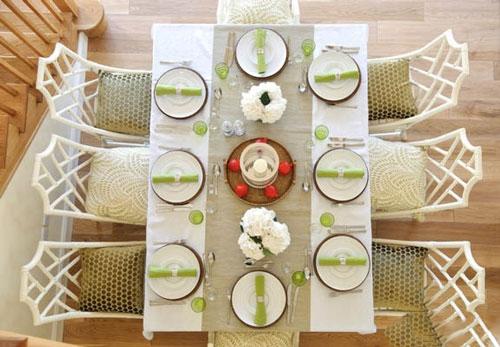 402862 227 - چیدمان میز غذاخوری برای مهمانی رسمی