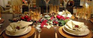 Examples of decoration and Layouts table food 5 300x125 - ۱۰ نکته برای برگزار کردن یک مهمانی شام