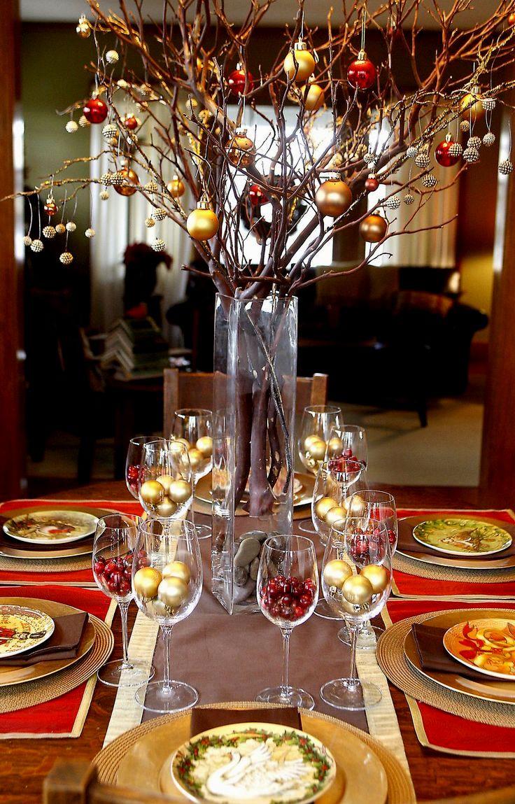 modern christmas table decoration ideas modern christmas table decoration ideas - انتخاب غذا مناسب و خوش مزه برای مهمانی ایده آل