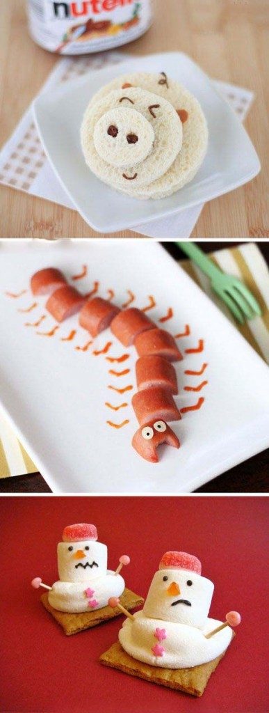 غذا 12 387x1024 - ایدههای خلاقانه تزیین غذا برای کودکان در میهمانی ها