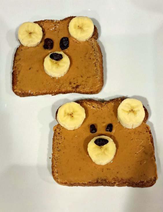غذا 18 - ایدههای خلاقانه تزیین غذا برای کودکان در میهمانی ها