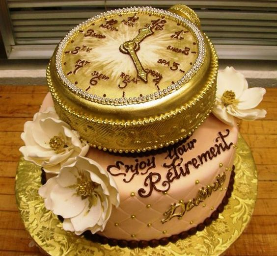 جشن بازنشستگی 14 - کیک های باحال جشن بازنشستگی