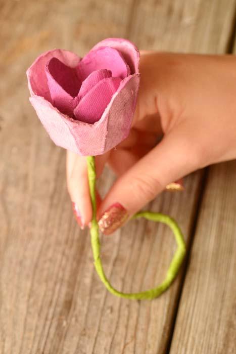 رز کاغذی 24 - گل رز کاغذی ؛گیفت کاغذی خلاقانه که در خانه قابل تهیه است