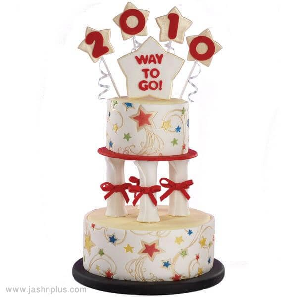 12 graduation cake ideas - 10 ایده کیک جشن فارغ اتحصیلی
