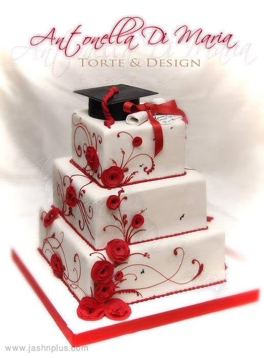 22 graduation cake ideas - 10 ایده کیک جشن فارغ اتحصیلی
