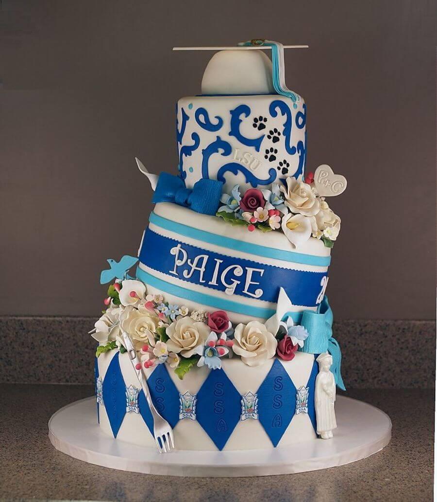 23 graduation cake ideas - 10 ایده کیک جشن فارغ اتحصیلی