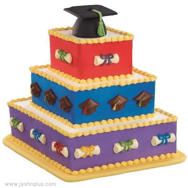 4 graduation cake ideas - 10 ایده کیک جشن فارغ اتحصیلی