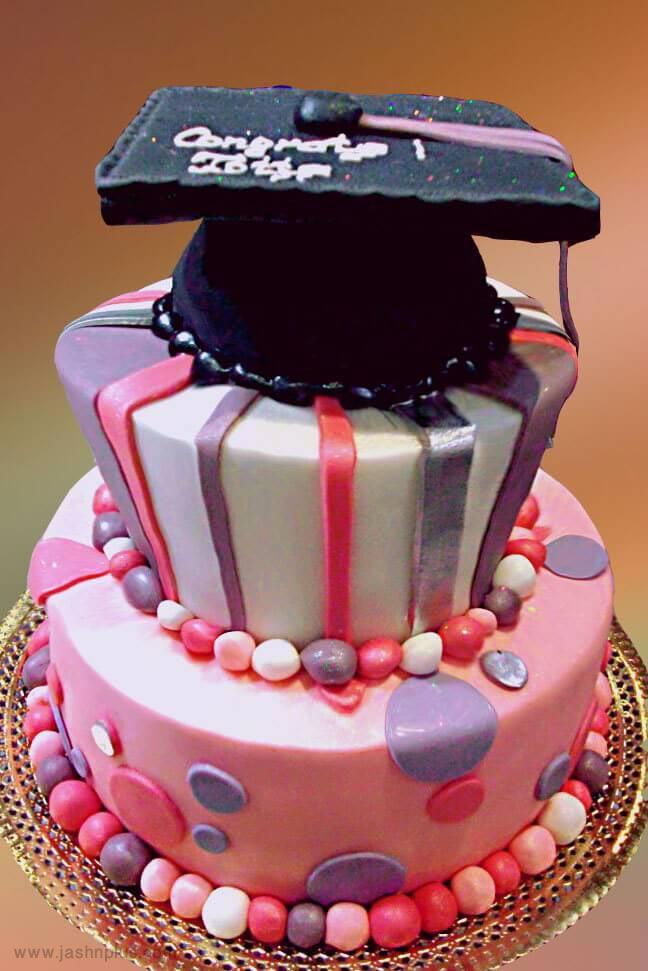 6 graduation cake ideas - 10 ایده کیک جشن فارغ اتحصیلی