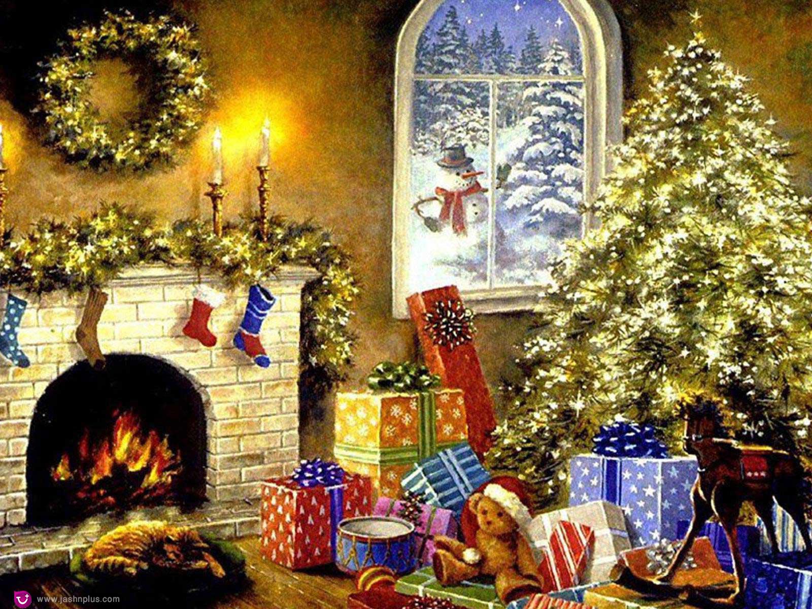 687940240 - کریسمس و یک میهمانی دور همی در روزهای سرد سال