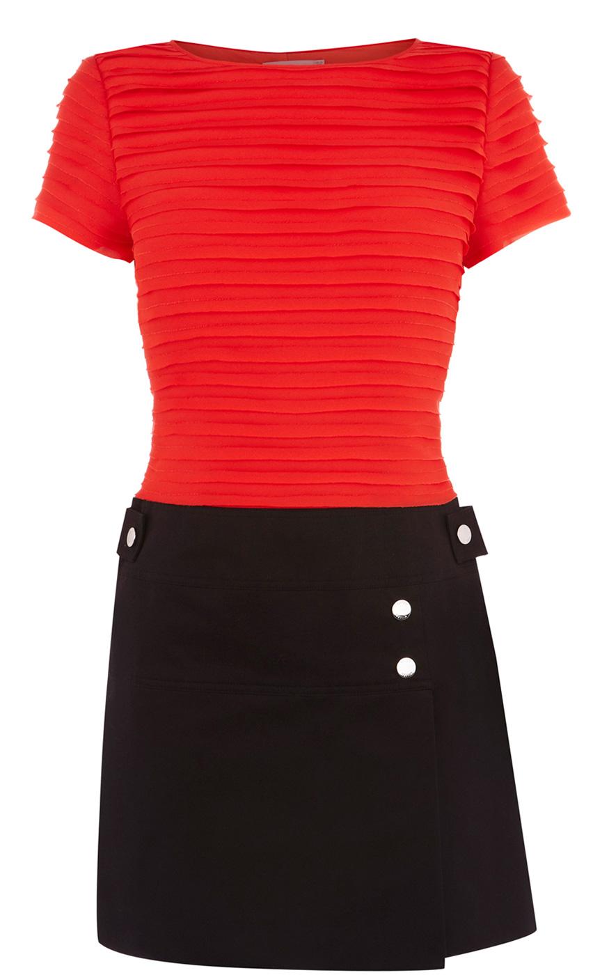 Karen Millen Red Black Colourblock Tunic Womens 434 1 - آداب میزبانی و میهمانی در ضیافت شب یلدا بلندترین شب سال