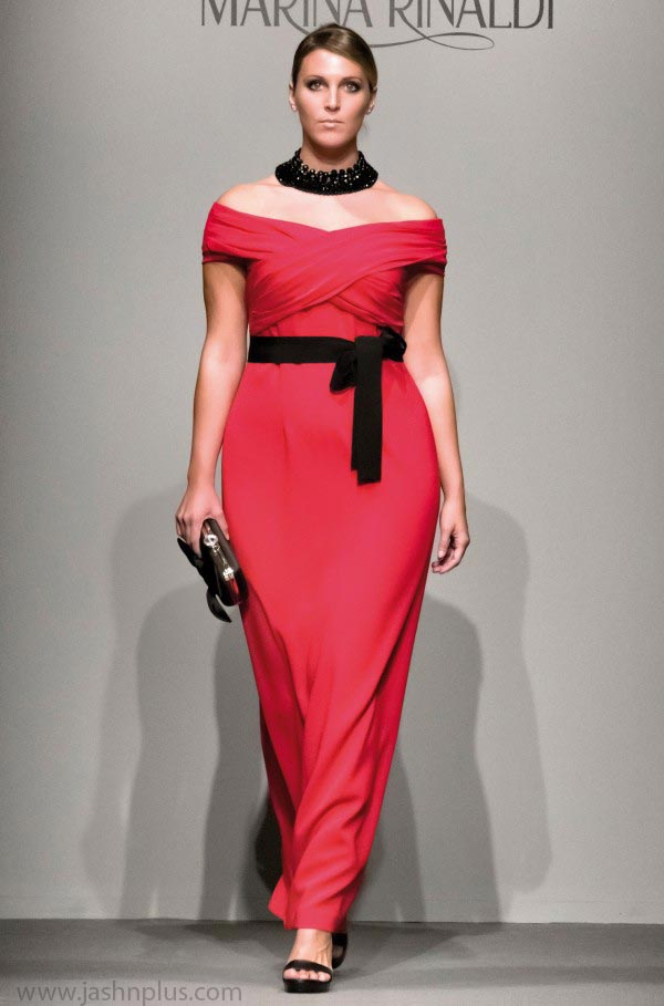 Marina Rinaldi Fall Winter 2014 2015 Plus Size Clothing 2 600x909 - آداب میزبانی و میهمانی در بلندترین شب سال(یلدا)