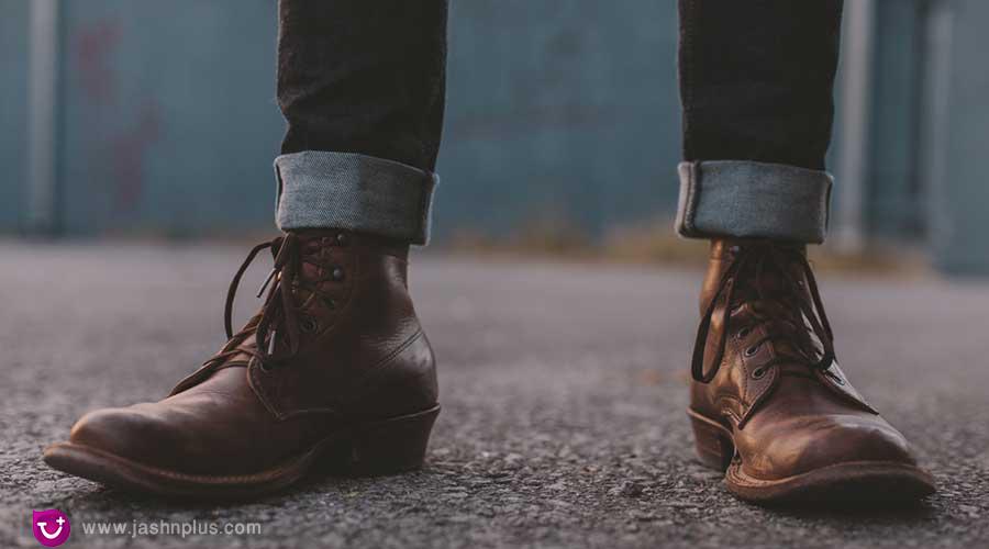 The Leather Boot - نکته ضروری برای مردان خوش تیپ امروزی (کفش مناسب مردانه)