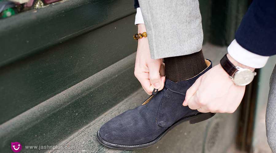 The Suede Chukka - نکته ضروری برای مردان خوش تیپ امروزی (کفش مناسب مردانه)