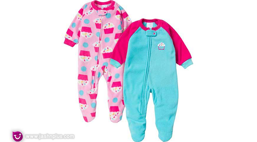 baby girl pajamas - لباس بچگانه دخترانه برای شرکت در میهمانی جذاب