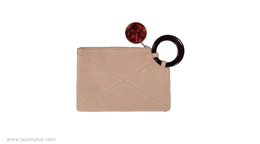 beige hand bag women - مدل جذاب و دوست داشتنی کیف زنانه برای میهمانی