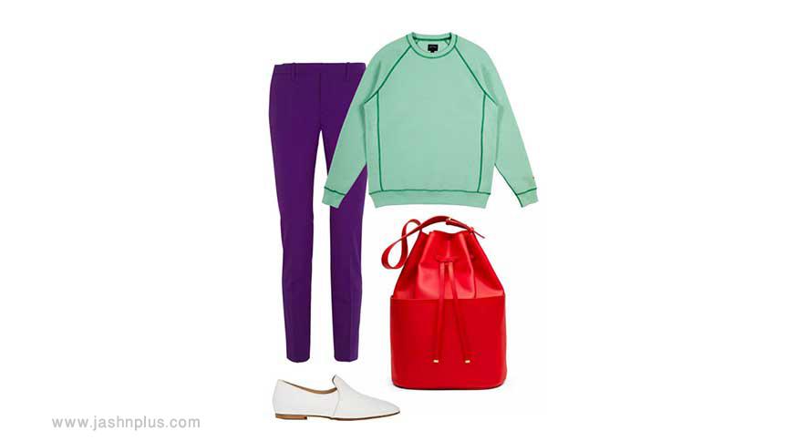 colors spring set - ایدههای لباس رنگی رنگی برای میهمانی