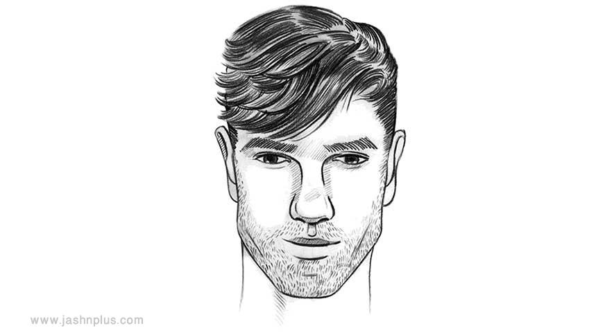 diamond hair - مدل موی مردانه برای انواع فرم صورت در میهمانی خاص