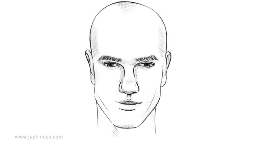 diamond shape - مدل موی مردانه برای انواع فرم صورت در میهمانی خاص