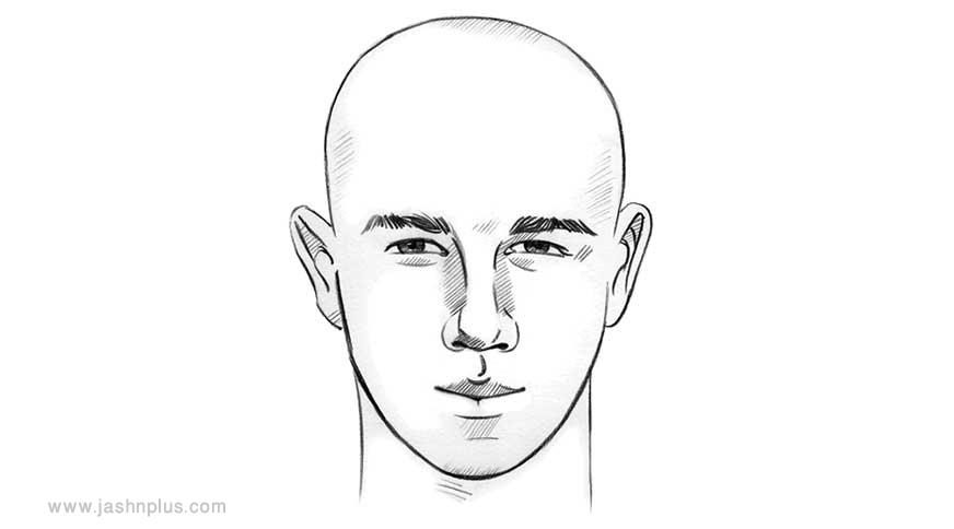 heart shape face - مدل موی مردانه برای انواع فرم صورت در میهمانی خاص