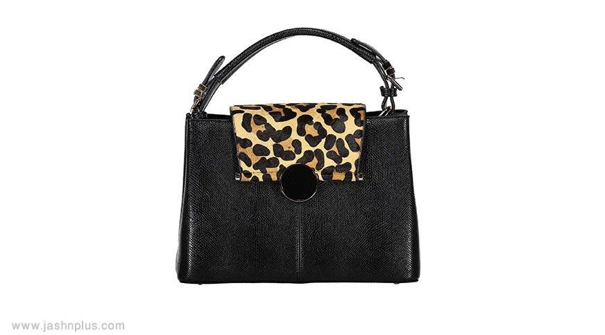leopard printed hand bag women - مدل جذاب و دوست داشتنی کیف زنانه برای میهمانی