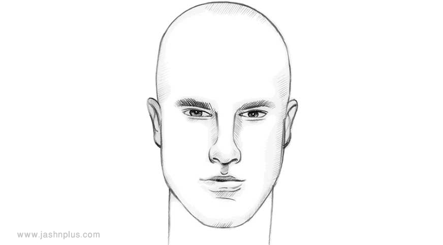long face - مدل موی مردانه برای انواع فرم صورت در میهمانی خاص